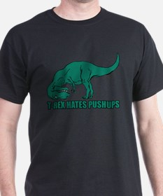 Unique T rex can%27t do pushups T-Shirt