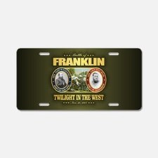 Battle of Franklin Aluminum License Plate