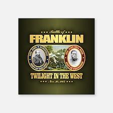 "Battle of Franklin (FH2) Square Sticker 3"" x 3"""