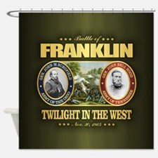 Battle of Franklin (FH2) Shower Curtain