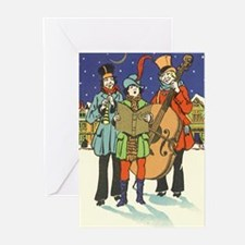 Unique Music christmas Greeting Cards (Pk of 20)