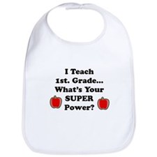 1st. Grade Teacher Bib
