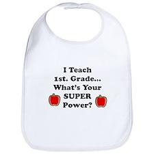 1st. Grade Teacher Bib