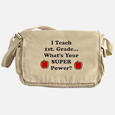 1st. Grade Teacher Messenger Bag