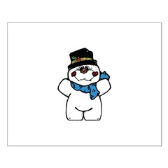 Silly Little Snowman Posters