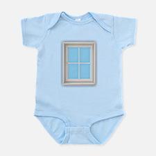 Window Blue Body Suit