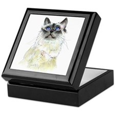 Birman Beauty #2 Keepsake Box