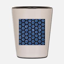 HXG2 BK-BL MARBLE Shot Glass