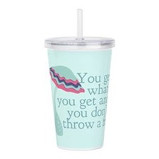 Cute PreK Quote Acrylic Double-wall Tumbler