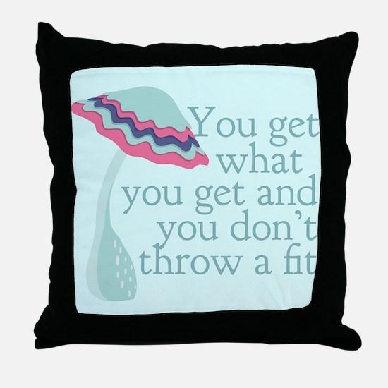 Cute PreK Quote Throw Pillow