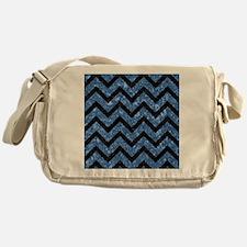 CHV9 BK-BL MARBLE Messenger Bag