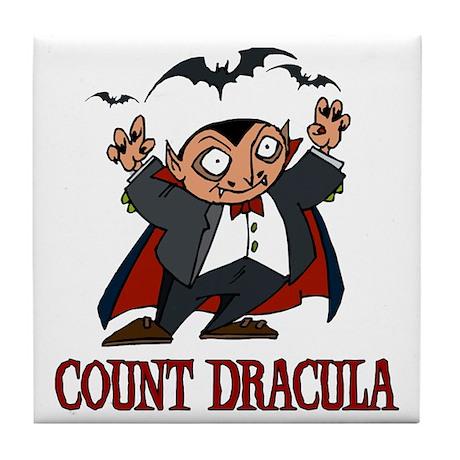 Count Dracula Tile Coaster