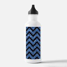 CHV9 BK-BL MARBLE Water Bottle