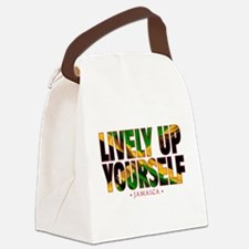 Lively Up Yourself - Canvas Lunch Bag