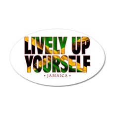 Lively Up Yourself - Wall Decal