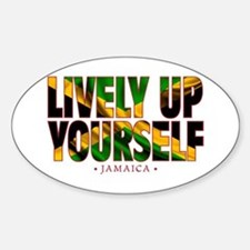 Lively Up Yourself - Decal
