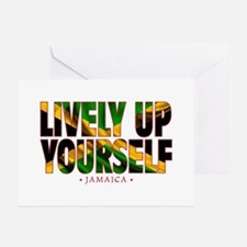 Lively Up Yourself - Greeting Card