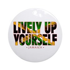 Lively Up Yourself - Round Ornament