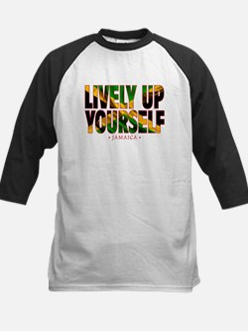 Lively Up Yourself - Kids Baseball Jersey