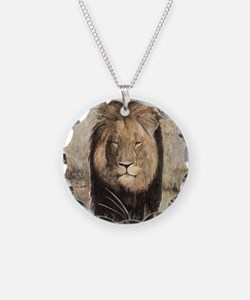 Cecil the Lion by Mark Balma Necklace