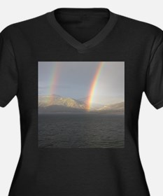Double Rainbow Plus Size T-Shirt