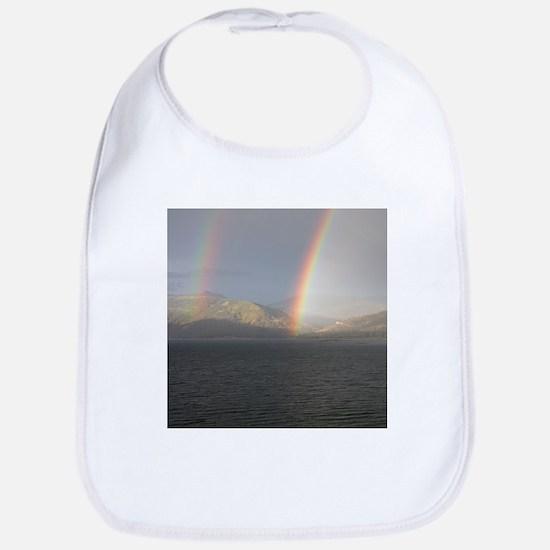 Double Rainbow Bib