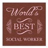 Social worker Car Magnets