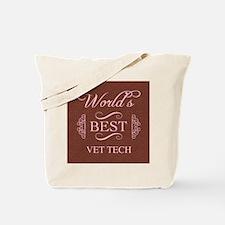 World's Best Vet Tech Tote Bag