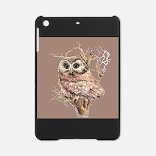 Cute Little Owl in Tree Bird Nature Watercolor iPa