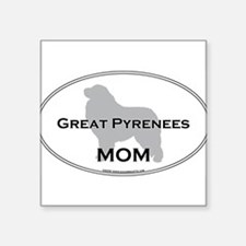 "Unique Breeds Square Sticker 3"" x 3"""