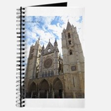 Journal With Cathedral Of Leon