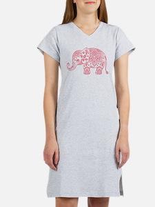 Funny Elephant Women's Nightshirt