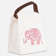 Cool Elephant Canvas Lunch Bag