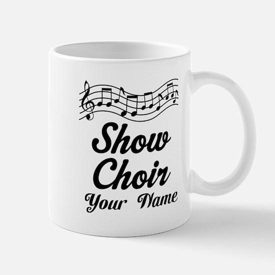 Personalized Show Choir Gift Mugs