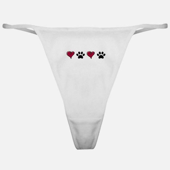 Love Pets Classic Thong