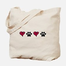 Love Pets Tote Bag