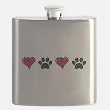 Love Pets Flask