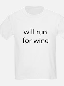 willrunforwine2.png T-Shirt