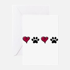 Love Pets Greeting Cards