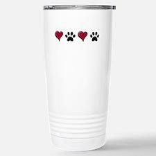 Love Pets Stainless Steel Travel Mug