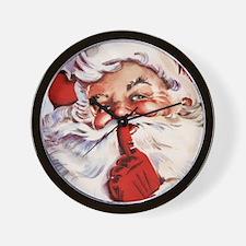 Santa20151105 Wall Clock