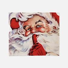 Santa20151105 Throw Blanket