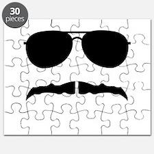 mustache love Puzzle