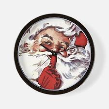 Santa20151107 Wall Clock