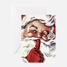 Santa20151107 Greeting Cards