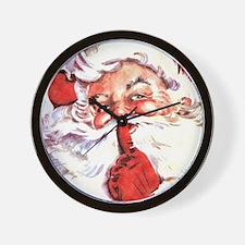 Santa20151106 Wall Clock