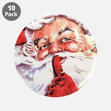 """Santa20151106 3.5"""" Button (10 pack)"""