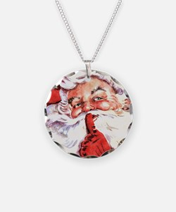 Santa20151106 Necklace Circle Charm
