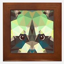 Racoon Framed Tile