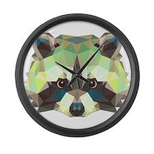 Racoon Large Wall Clock